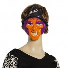 Halloween Costume Party Plastic Witch Mask for Adults