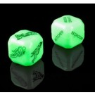 Glow in the dark Sex Dice. One for location, one for position!