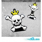 16GB Novelty Horror Skull King USB Flash Key Pen Drive Memory Stick Gift UK [PC]