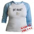 got mask? Opera Jr. Raglan by CafePress