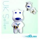 4GB Novelty Cartoon Cute Polar Bear USB Flash Key Pen Drive Memory Stick Gift UK [PC]