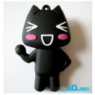 4GB Novelty Cartoon Black Funny Cat USB Flash Key Pen Drive Memory Stick Gift UK [PC]