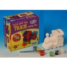 Paint Your Own: Train Money Box