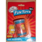 Bart Simpson , The Simpsons fart noise putty. Ideal for joking around.