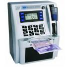 Kids ATM Savings Bank Gadget Money Box Machine - Silver