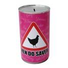 Hen Do Cash Can Savings Tin - Large
