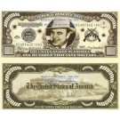Novelty Dollar Al Capone Scar Face Gangster $100,000 Dollar Bills X 4