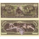 Novelty Dollar Bats One Million Vampire Bat Dollar Bills X 4 Halloween