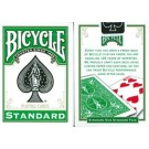 Bicycle Cards Poker Sized Green Backed