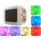 Color Changing Electronic Battery Operated Hello Kitty Alarm Clock in Retail Packaging(Batteries not Included-4xAAA)