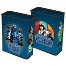 Dr Who Money Box With Doctor Who Tom Baker And Dalek Images