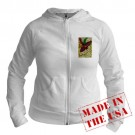 Mardi Gras Mask Art Jr. Hoodie by CafePress