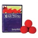 Sponge Ball Magic Kit - Instructional DVD and set of 4 Sponge Balls