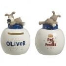 Boofle Pots Of Pennies Mini Money Pot - Oliver