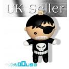 4GB Novelty Cute Cartoon Black Pirate Boy USB Flash Key Pen Drive Memory Stick Gift UK