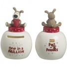 Boofle Pots Of Pennies Mini Money Pot - One In A Million