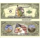 Novelty Dollar 9/11 Statue Of Liberty Million New York Dollar Bills X 4