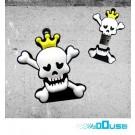 4GB Novelty Horror Skull King USB Flash Key Pen Drive Memory Stick Gift UK [PC]