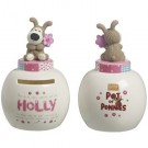 Boofle Pots Of Pennies Mini Money Pot - Holly