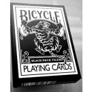 Bicycle Black Tiger Deck Playing Cards by Ellusionist - white
