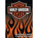 Harley Davidson Bicycle Playing Cards (Flame Box)