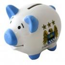 Manchester City F.C. Piggy Bank White