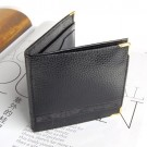Black Synthetic Leather Flaming Fire Wallet Magic Magician Trick/ Standard Bi-fold Hip Wallet