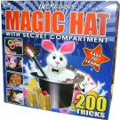 Incredible Magic Hat with Secret Compartment - Easy to learn 200 tricks!