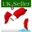16GB Novelty Cute Lovely Red Chilli USB Flash Key Pen Drive Memory Stick Gift UK [PC]