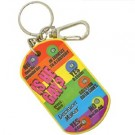 Is He Gay Decision Maker Keychain