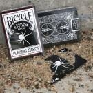 Black Spider Deck- Bicycle