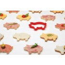 Party Animals Pig Sandwich Cutters Fun Novelty Gift