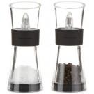 Cole & Mason Inverta Flip 154 mm Pepper and Salt Mill Gift Set, Black