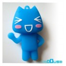 4GB Novelty Cartoon Blue Funny Cat USB Flash Key Pen Drive Memory Stick Gift UK [PC]