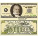 Novelty Dollar Casino Party Poker Night Play Money Dollar Bills X 100