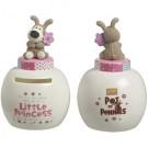 Boofle Pots Of Pennies Mini Money Pot - Little Princess