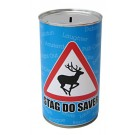 Stag Do Cash Can Savings Tin - Large