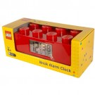 LEGO Brick Clock (Red)