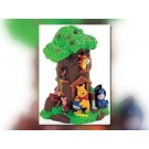 WINNIE THE POOH - Disney - Money Box Treehouse 20 cm