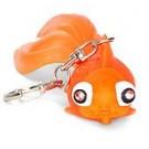 Kikkerland Goldfish LED and Sound Keyring