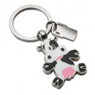 Cow Keyring with Churn Tag