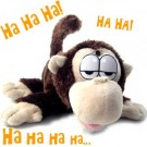 Laughing Monkey- Rolling Laughing Animals, with mouth movement.