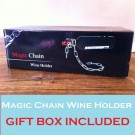 Scarfell Chain Floating Wine Bottle Holder with Gift Box