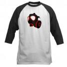 Gas Mask Baseball Baseball Jersey by CafePress