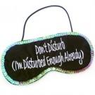 Don't Disturb Sleep Mask