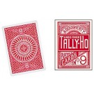 Tally Ho Circle Red Back Playing Cards