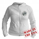 Vintage Comedy Tragedy Mask Theatre Jr. Hoodie by CafePress