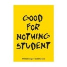 Good For Nothing Student Wyrm Acrylic Keychains Including Chain 4 x 9cm (1.6 x 3.6 inches) quality keyring brand new officially licensed fun novelty gift