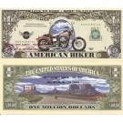 Novelty Dollar Harley Davidson American Biker Dollar Bills X 4