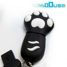 4GB Novelty Cartoon Cute Black Cat/Bear Paws USB Flash Key Pen Drive Memory Stick Gif...